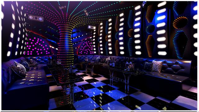 Có nhiều phong cách gương trang trí phòng karaoke