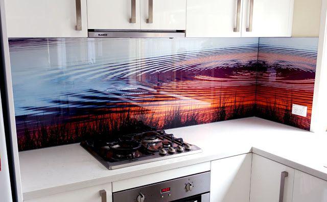 Những mẫu tranh kính ốp bếp đẹp nhất